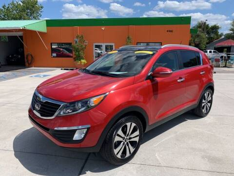 2013 Kia Sportage for sale at Galaxy Auto Service, Inc. in Orlando FL