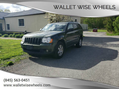 2008 Jeep Grand Cherokee for sale at Wallet Wise Wheels in Montgomery NY