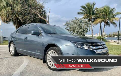 2012 Ford Fusion Hybrid for sale at AUTOSPORT MOTORS in Lake Park FL