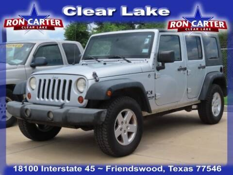 2009 Jeep Wrangler Unlimited for sale at Ron Carter  Clear Lake Used Cars in Houston TX