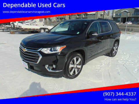 2019 Chevrolet Traverse for sale at Dependable Used Cars in Anchorage AK