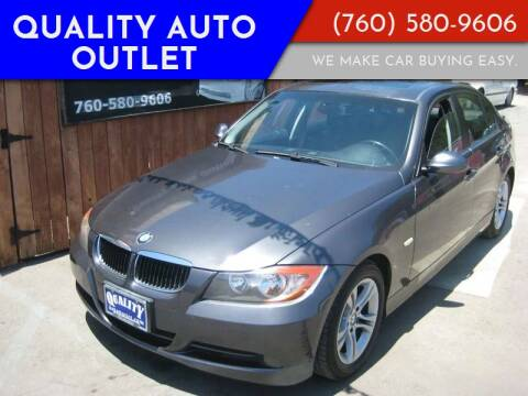 2008 BMW 3 Series for sale at Quality Auto Outlet in Vista CA