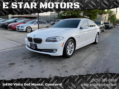 2012 BMW 5 Series for sale at E STAR MOTORS in Concord CA