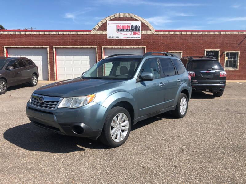 2011 Subaru Forester for sale at Family Auto Finance OKC LLC in Oklahoma City OK
