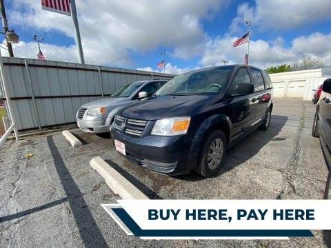 2008 Dodge Grand Caravan for sale at Credit Connection Auto Sales in Midwest City OK