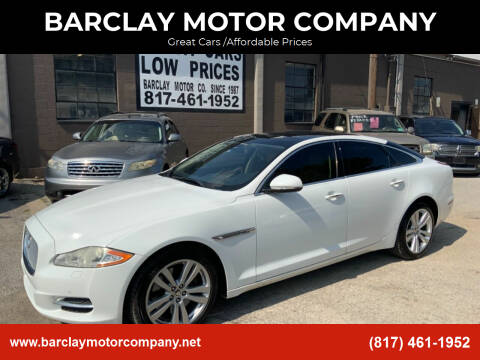 2011 Jaguar XJ for sale at BARCLAY MOTOR COMPANY in Arlington TX