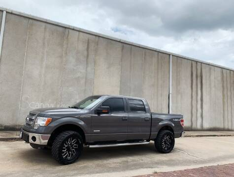 2013 Ford F-150 for sale at ANDERSON MOTORCARS in Okemah OK