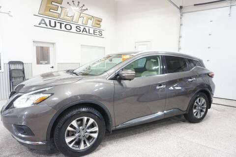 2015 Nissan Murano for sale at Elite Auto Sales in Ammon ID