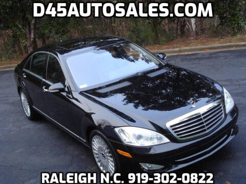 2007 Mercedes-Benz S-Class for sale at D45 Auto Brokers in Raleigh NC