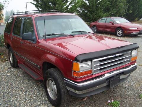 1994 Ford Explorer for sale at M & M Auto Sales LLc in Olympia WA