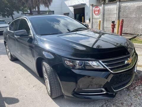 2018 Chevrolet Impala for sale at DORAL HYUNDAI in Doral FL