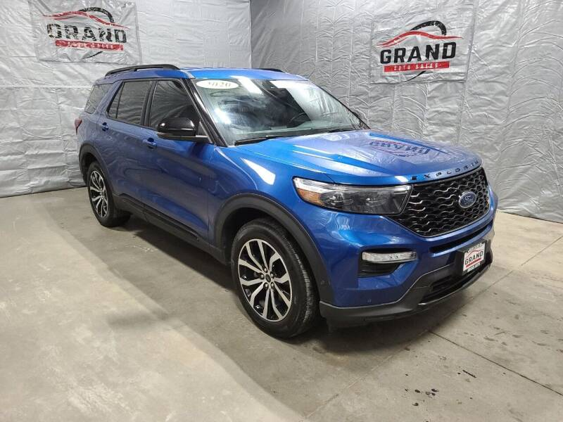 2020 Ford Explorer for sale at GRAND AUTO SALES in Grand Island NE