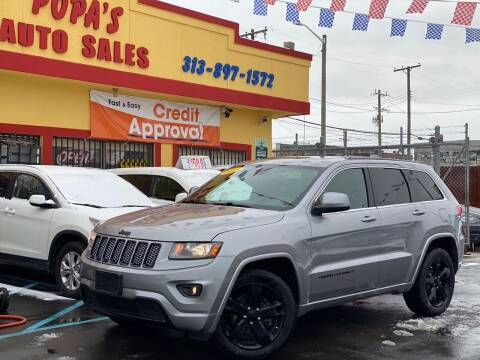 2015 Jeep Grand Cherokee for sale at Popas Auto Sales in Detroit MI