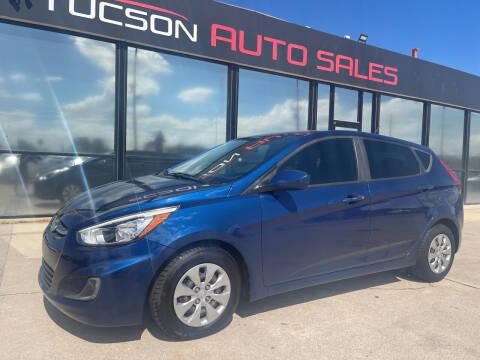 2016 Hyundai Accent for sale at Tucson Auto Sales in Tucson AZ