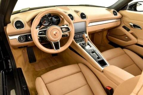 2017 Porsche 718 Boxster for sale at CU Carfinders in Norcross GA