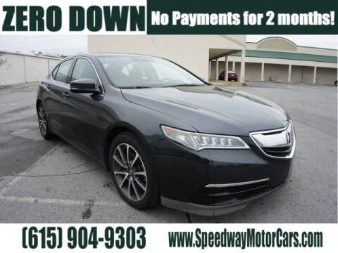 2016 Acura TLX for sale at Speedway Motors in Murfreesboro TN