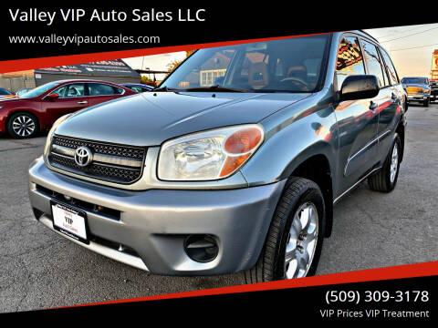 2004 Toyota RAV4 for sale at Valley VIP Auto Sales LLC - Valley VIP Auto Sales - E Sprague in Spokane Valley WA
