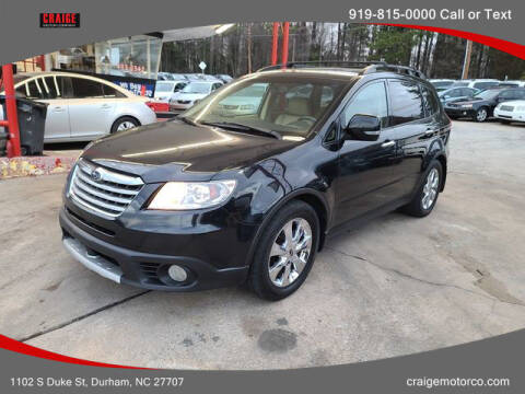 2008 Subaru Tribeca for sale at CRAIGE MOTOR CO in Durham NC