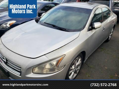 2014 Nissan Maxima for sale at Highland Park Motors Inc. in Highland Park NJ