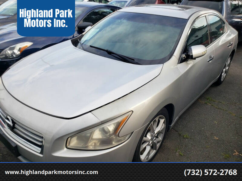 2014 Nissan Maxima for sale at Highland Park Motors Inc. in Highland Park NJ