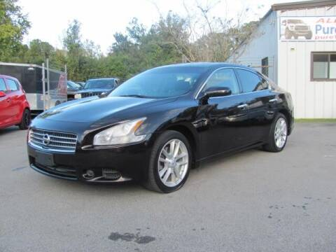 2011 Nissan Maxima for sale at Pure 1 Auto in New Bern NC