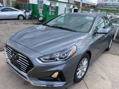 2019 Hyundai Sonata for sale at GO GREEN MOTORS in Denver CO