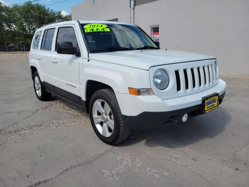 2014 Jeep Patriot for sale at CHURCHILL AUTO SALES in Fallon NV