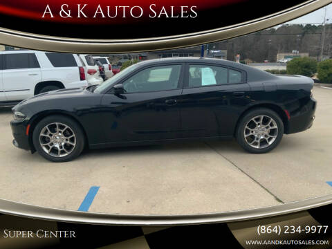 2015 Dodge Charger for sale at A & K Auto Sales in Mauldin SC