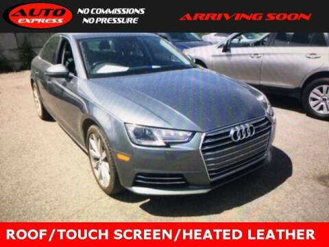 2017 Audi A4 for sale at Auto Express in Lafayette IN