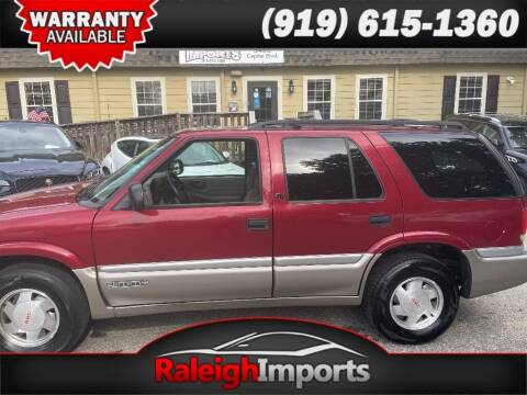 1999 GMC Jimmy for sale at Raleigh Imports in Raleigh NC