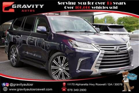 2018 Lexus LX 570 for sale at Gravity Autos Roswell in Roswell GA