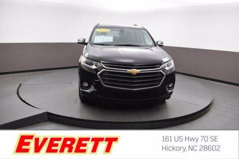 2019 Chevrolet Traverse for sale at Everett Chevrolet Buick GMC in Hickory NC