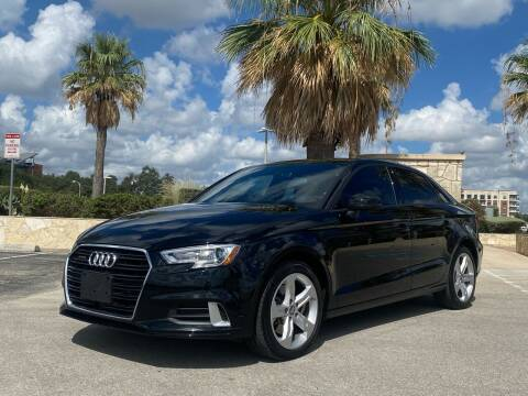 2018 Audi A3 for sale at Motorcars Group Management in San Antonio TX
