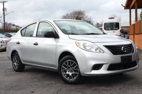 2014 Nissan Versa for sale at Irving Motors Corp in San Antonio TX
