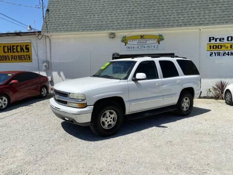 2005 Chevrolet Tahoe for sale at Klett Automotive Group in Saint Augustine FL