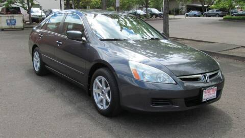 2006 Honda Accord for sale at D & M Auto Sales in Corvallis OR