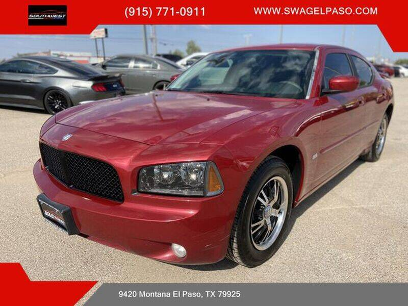 2010 Dodge Charger for sale at SOUTHWEST AUTO GROUP-EL PASO in El Paso TX