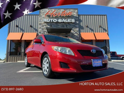 2009 Toyota Corolla for sale at HORTON AUTO SALES, LLC in Linn MO