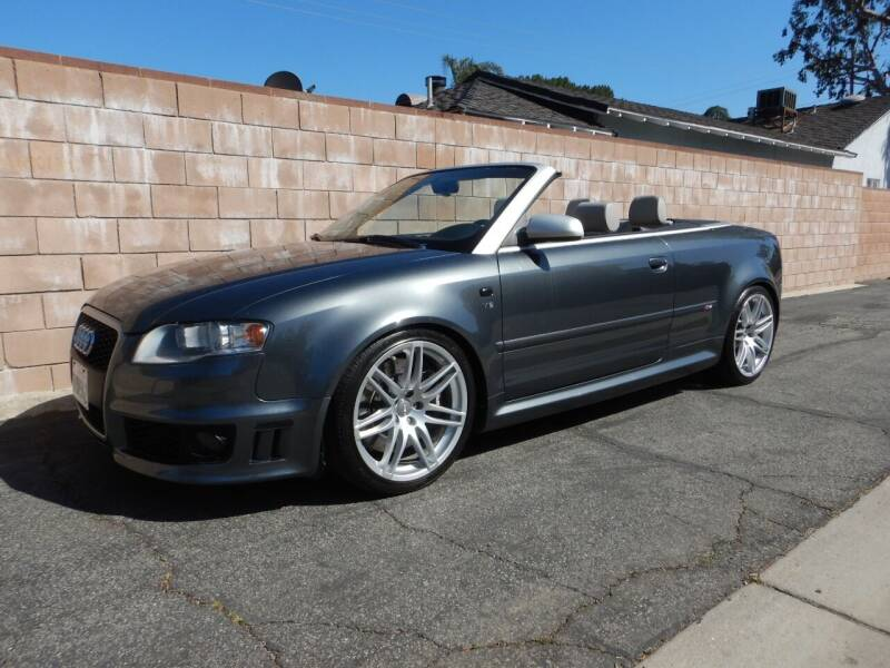 2008 Audi RS 4 for sale at California Cadillac & Collectibles in Los Angeles CA