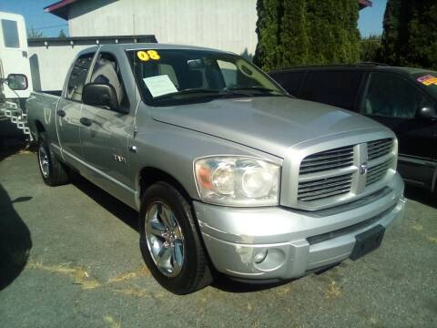 2008 Dodge Ram Pickup 1500 for sale at Payless Car & Truck Sales in Mount Vernon WA