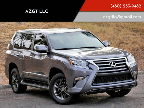 2015 Lexus GX 460 for sale at AZGT LLC in Phoenix AZ