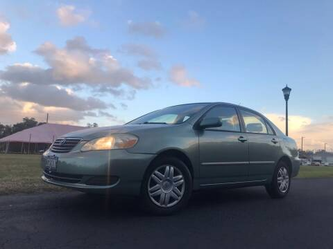 2005 Toyota Corolla for sale at ICar Florida in Lutz FL