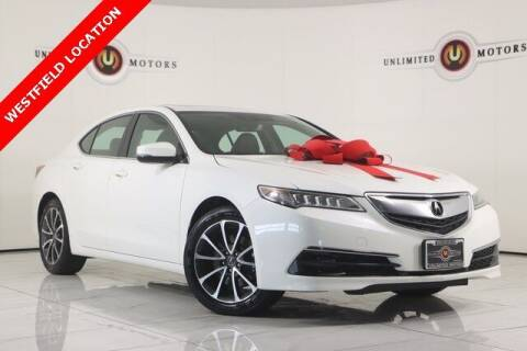 2016 Acura TLX for sale at INDY'S UNLIMITED MOTORS - UNLIMITED MOTORS in Westfield IN