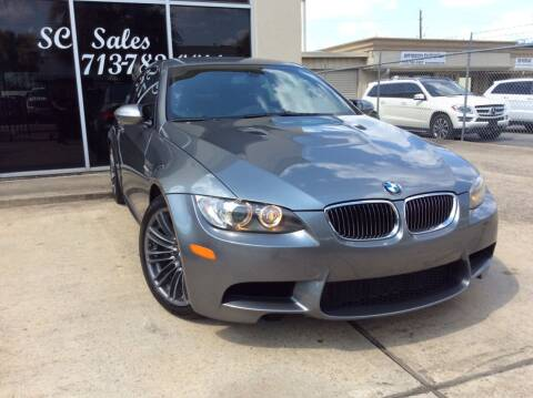 2009 BMW M3 for sale at SC SALES INC in Houston TX