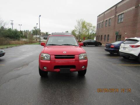 2003 Nissan Frontier for sale at Heritage Truck and Auto Inc. in Londonderry NH