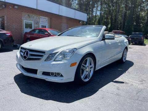 2011 Mercedes-Benz E-Class for sale at Magic Motors Inc. in Snellville GA