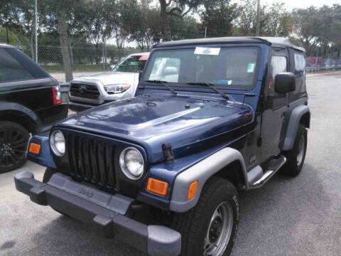 2004 Jeep Wrangler for sale at Gulf South Automotive in Pensacola FL