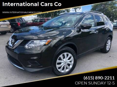 2016 Nissan Rogue for sale at International Cars Co in Murfreesboro TN