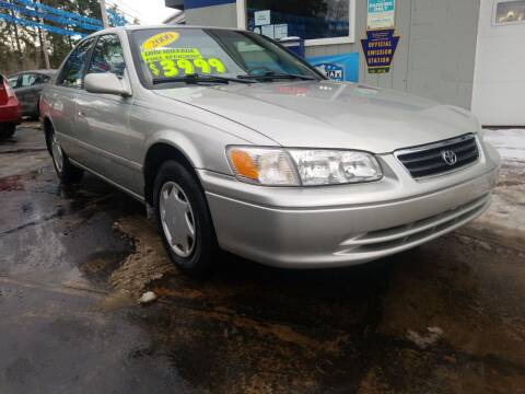2000 Toyota Camry for sale at Bizzarro`s Fleetwing Auto Sales in Erie PA