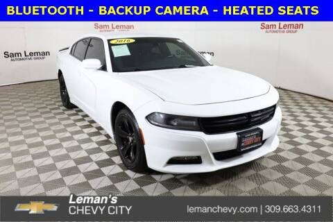 2016 Dodge Charger for sale at Leman's Chevy City in Bloomington IL